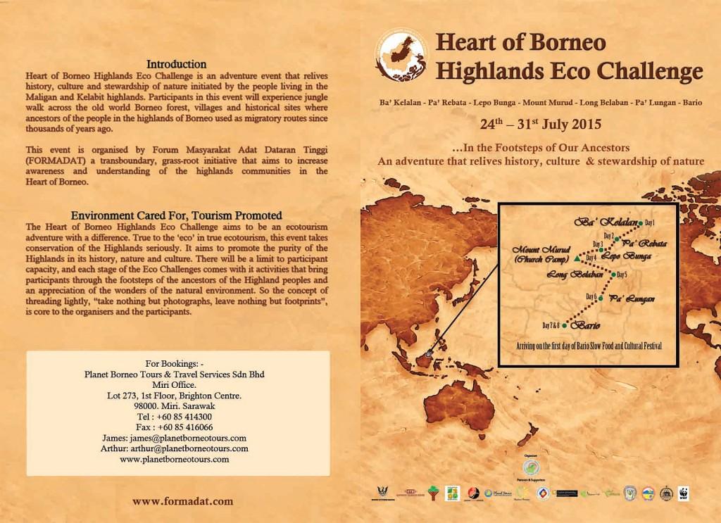 Heart of Borneo Eco Challenge 2015